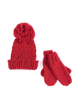 Shiraleah Joy Hat & Mitten Set - Product List Image