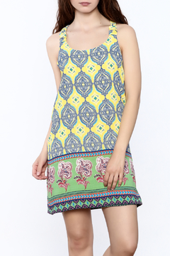 Shoptiques Product: Mix Print Sleeveless Dress