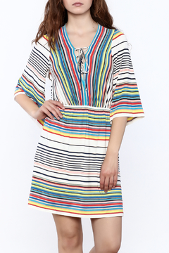 Shoptiques Product: Colorful Stripe Dress