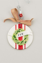 Glory Haus Joy Wreath Ornament - Product Mini Image