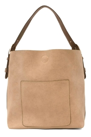 Joy Accessories Beige Hobo Bag - Product Mini Image