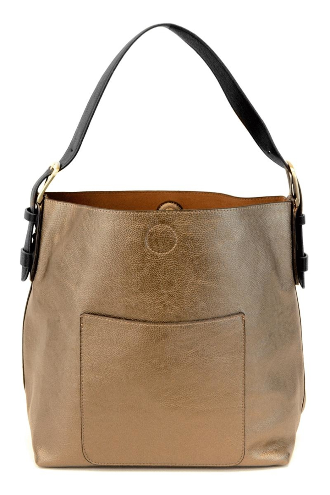Joy Accessories Bronze Hobo Bag - Main Image