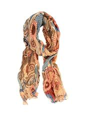 Joy Accessories Camel Turq Scarf - Product Mini Image