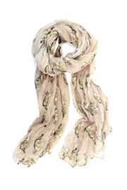 Joy Accessories Cat Print Scarf - Product Mini Image