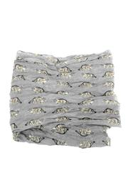 Joy Accessories Cat Print Scarf - Front full body