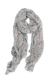 Joy Accessories Cat Print Scarf - Front cropped
