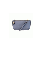 Joy Accessories Chambray Wristlet Clutch - Front cropped