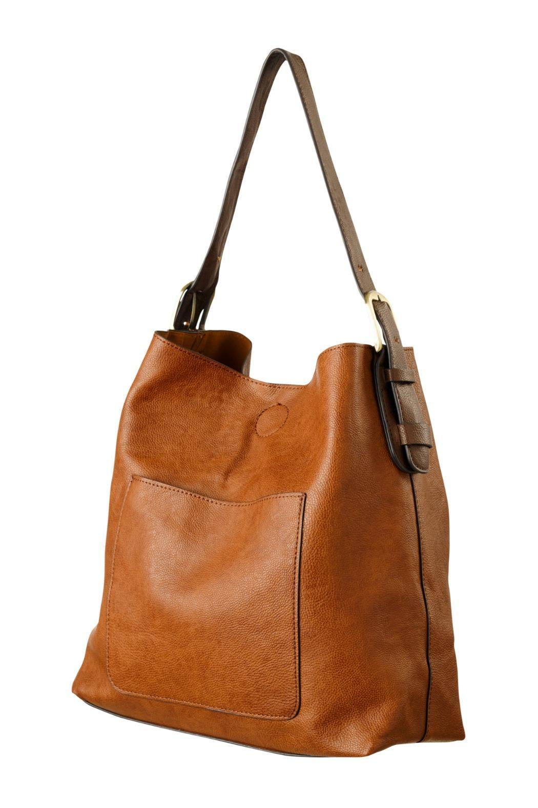 Joy Accessories Cognac Hobo Bag from Wisconsin by Wilkins ...