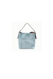 Joy Accessories Denim Hobo Handbag - Product Mini Image
