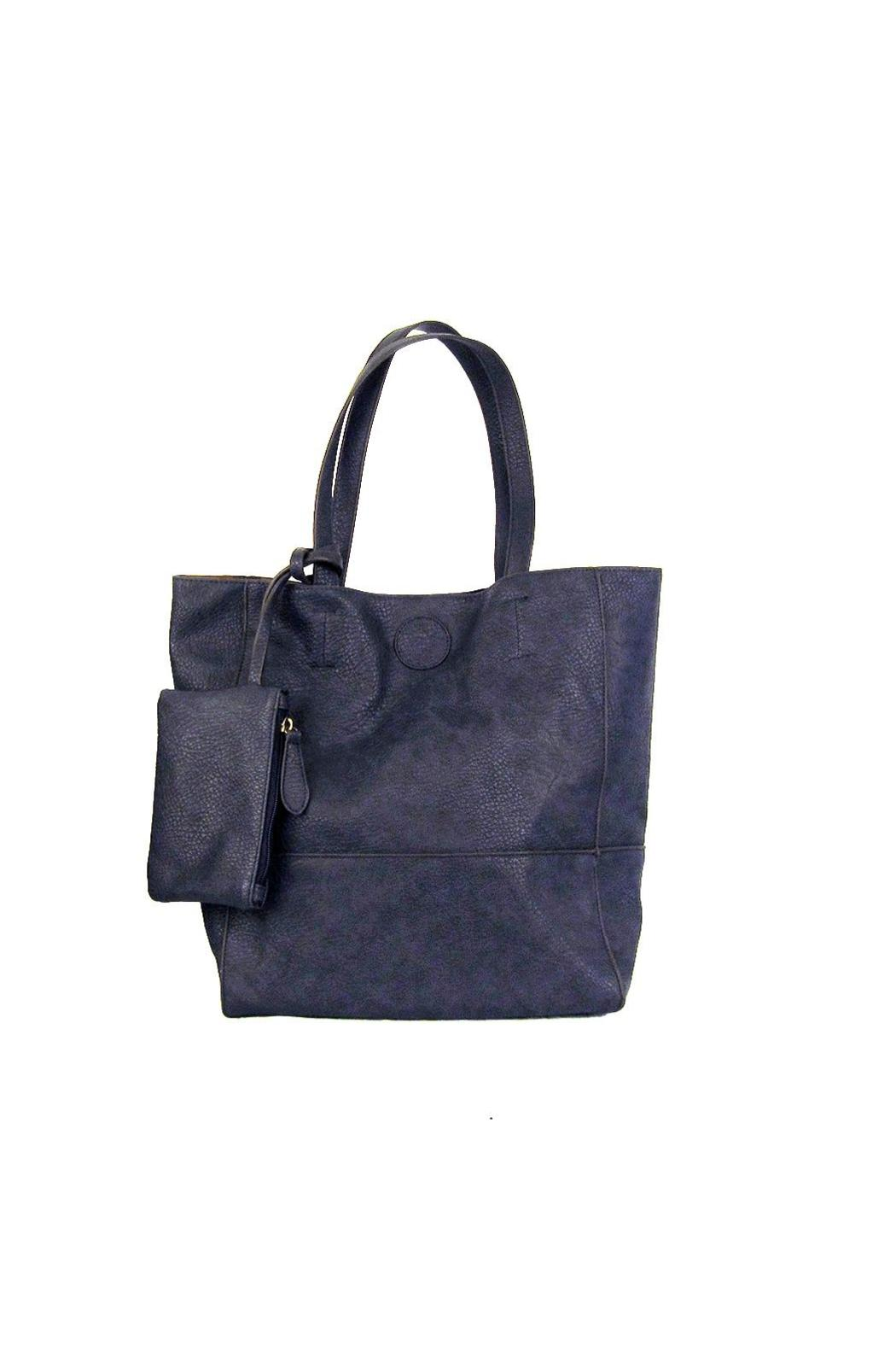 12975132479c Joy Accessories Faux Leather Tote from Wisconsin by Wilkins ...