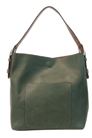Joy Accessories Forest Green Hobo Bag - Product Mini Image