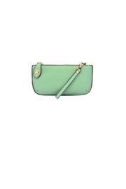 Joy Accessories Green Wristlet Clutch - Front cropped