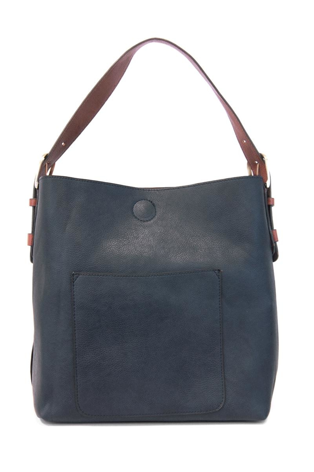 Joy Accessories Indigo Hobo Bag - Front Cropped Image