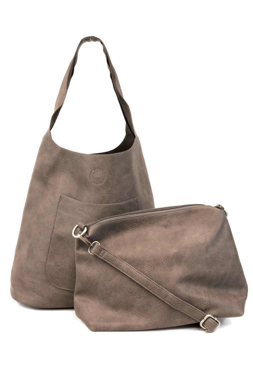 Joy Accessories Molly Slouchy Hobo - Side Cropped Image