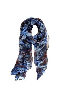 Shoptiques Product: Multi Feather Scarf