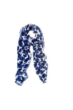 Shoptiques Product: Navy Puppy Scarf