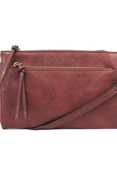 Shoptiques Product: Oxblood Crossbody Bag