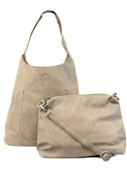 Joy Accessories Slouchy Hobo Bag - Back cropped