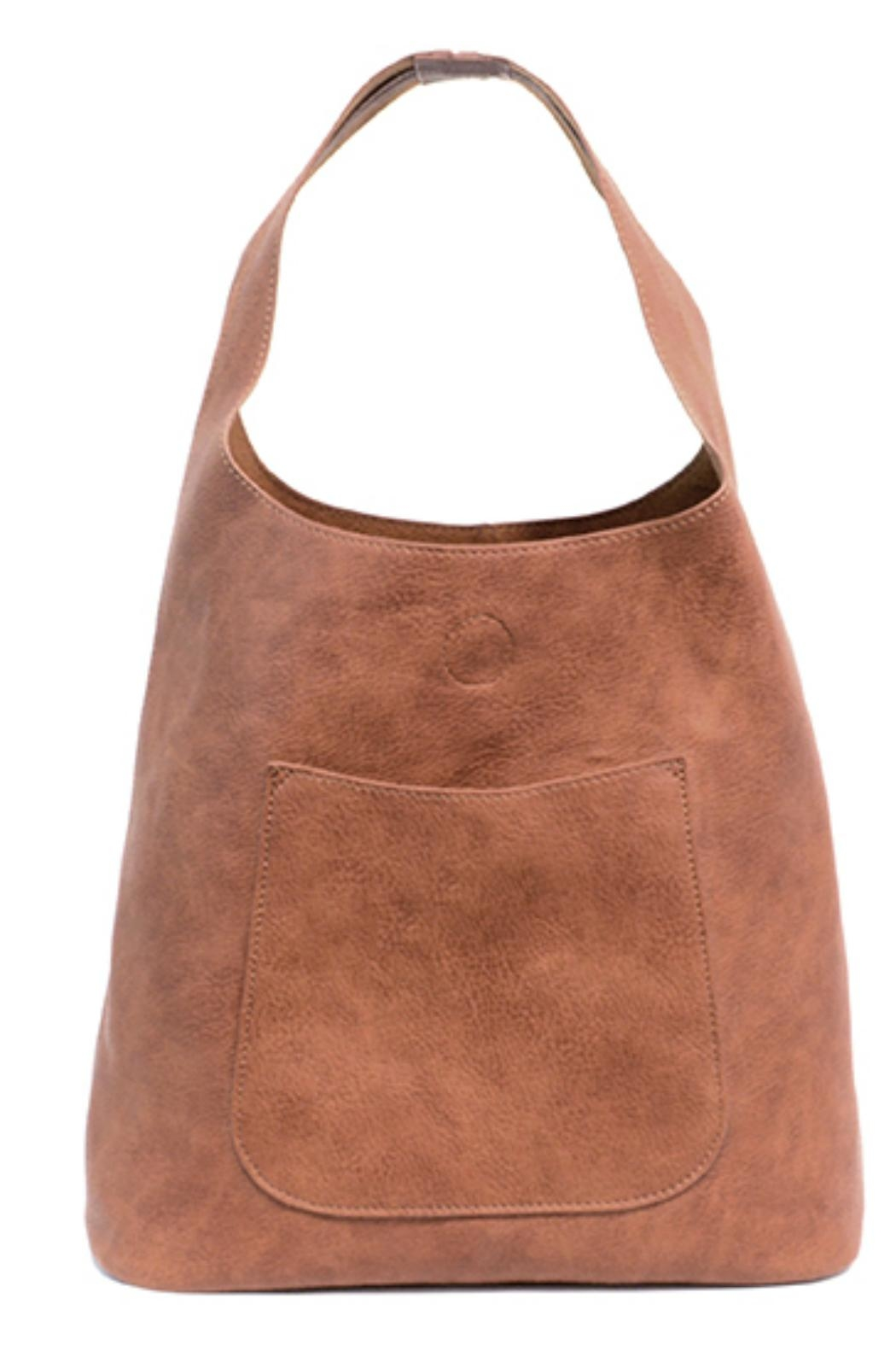 Joy Accessories Slouchy Hobo Bag - Front Cropped Image