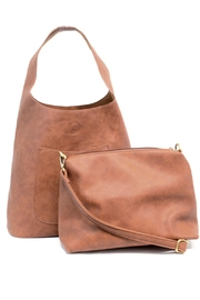 Joy Accessories Slouchy Hobo Bag - Side cropped