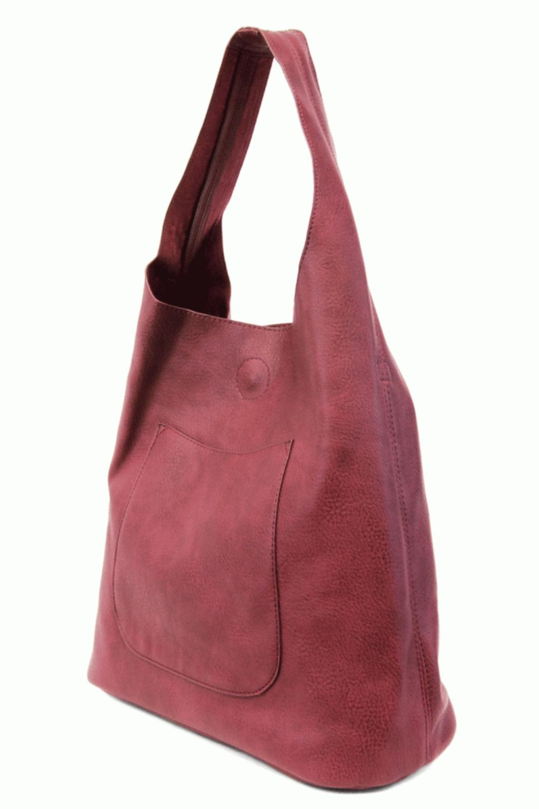 Joy Accessories Slouchy Hobo Bag - Side Cropped Image