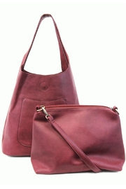 Joy Accessories Slouchy Hobo Bag - Front full body
