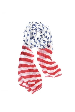 Joy Accessories Stars & Strips Scarf - Product List Image