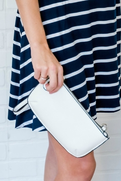 Shoptiques Product: White Clutch Crossbody