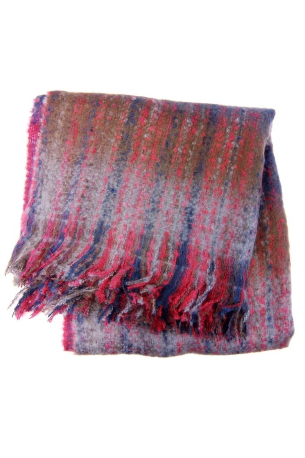 Joy Accessories Woven Ombre Scarf - Front Full Image