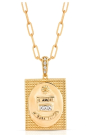 Joy Dravecky Attraction Square Pendant - Product Mini Image