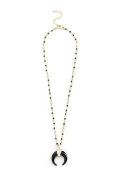 Shoptiques Product: Black Horn Necklace