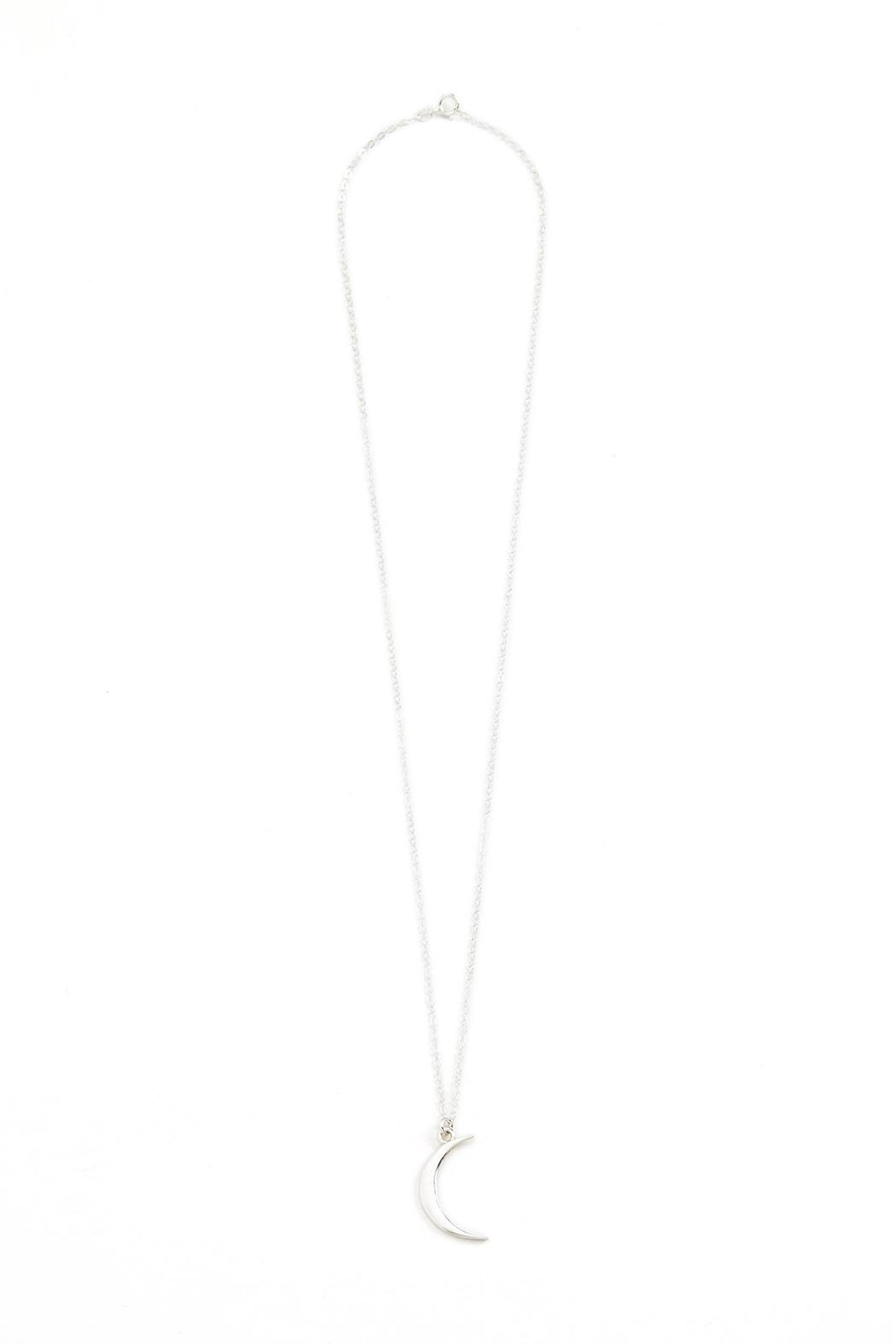 Joy Dravecky Crescent Moon Necklace - Front Cropped Image