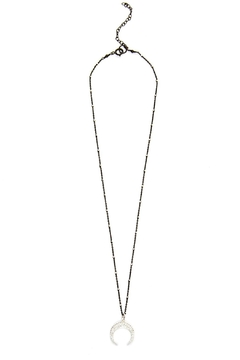 Joy Dravecky Crescent Moon Necklace - Alternate List Image