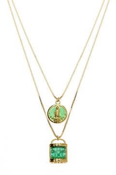 Joy Dravecky Lucky 2-In-1 Necklace - Alternate List Image