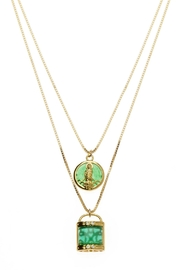 Joy Dravecky Lucky 2-In-1 Necklace - Front cropped