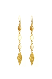 Joy Dravecky Opal Drop Earrings - Product Mini Image