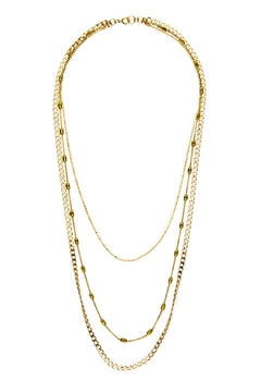 Joy Dravecky Sleek Trio Necklace - Alternate List Image