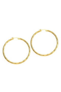 Joy Dravecky Sparkle Hoop Earring - Product List Image