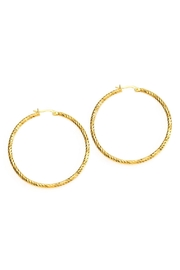Joy Dravecky Sparkle Hoop Earring - Product Mini Image