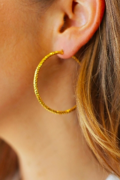 Joy Dravecky Sparkle Hoop Earring - Alternate List Image