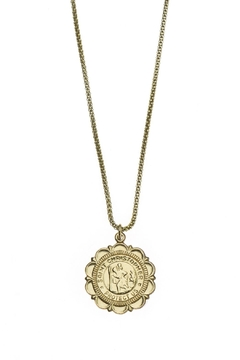 Joy Dravecky St. Christopher Necklace - Alternate List Image