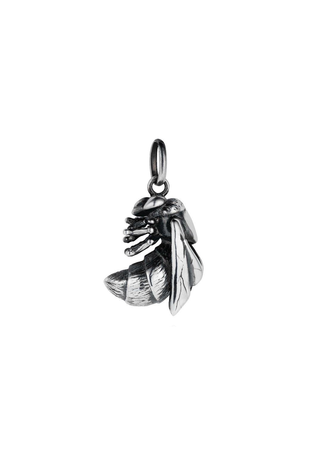 Joy Everley Silver Bee Charm - Front Cropped Image