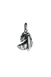 Joy Everley Silver Bee Charm - Front cropped