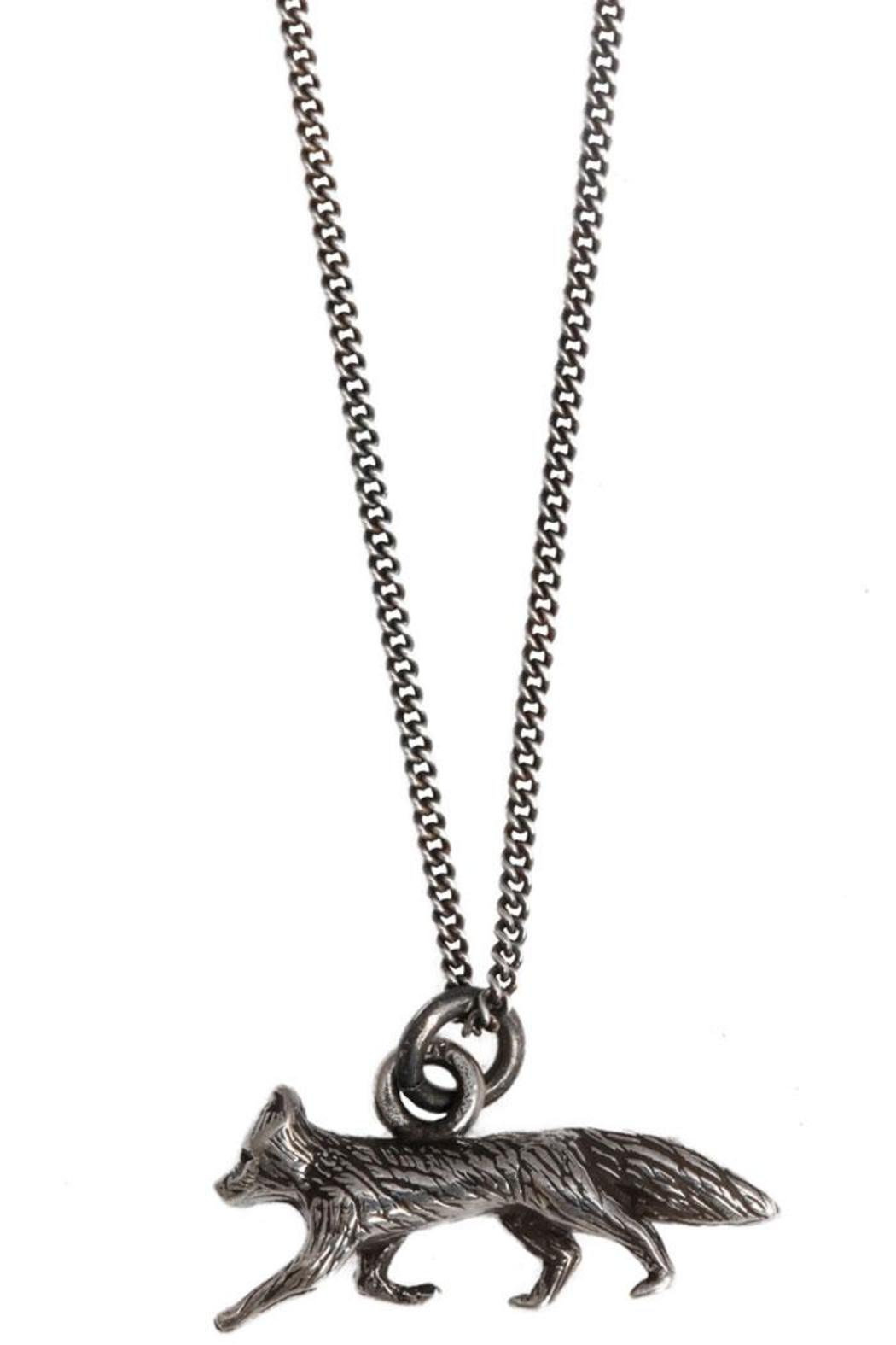 Joy Everley Silver Fox Necklace - Main Image