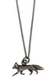 Joy Everley Silver Fox Necklace - Front cropped