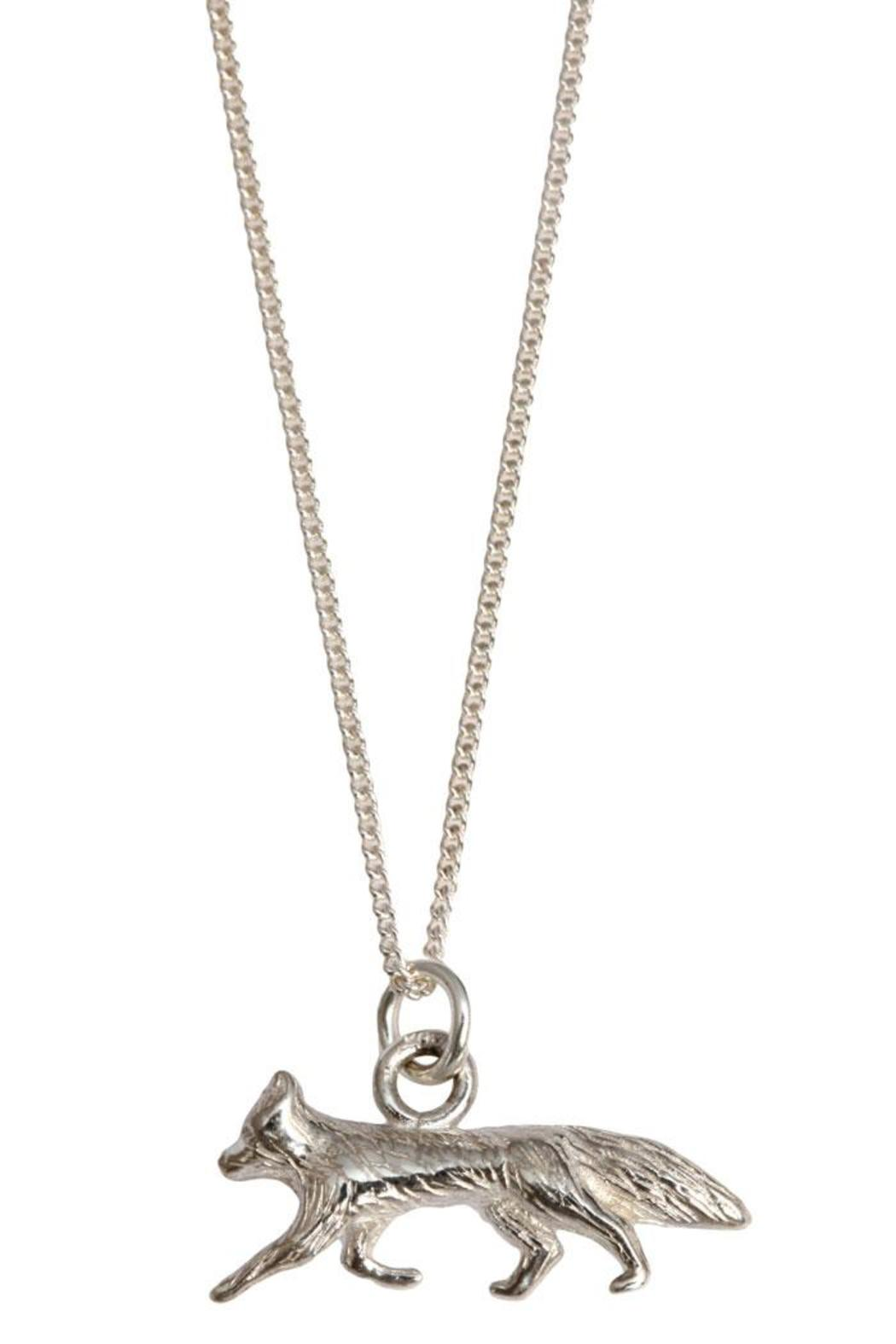 Joy Everley Silver Fox Necklace - Front Cropped Image