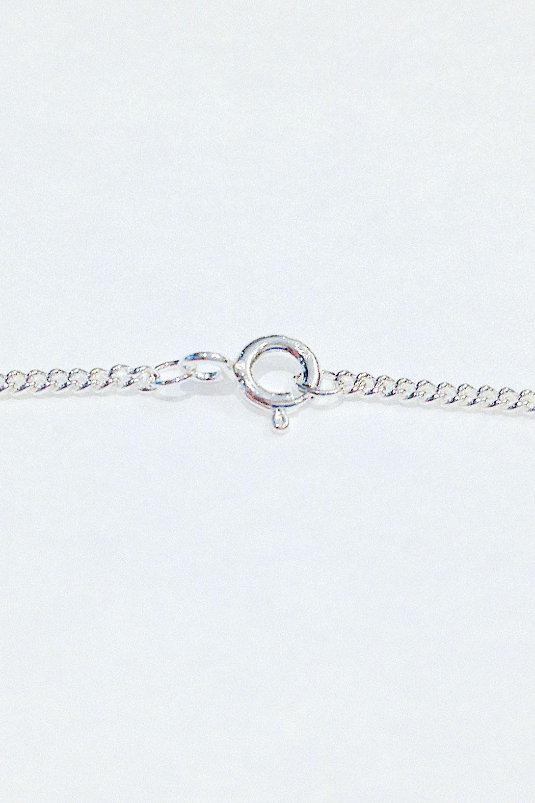 Joy Everley Silver Rabbit Necklace - Front Full Image