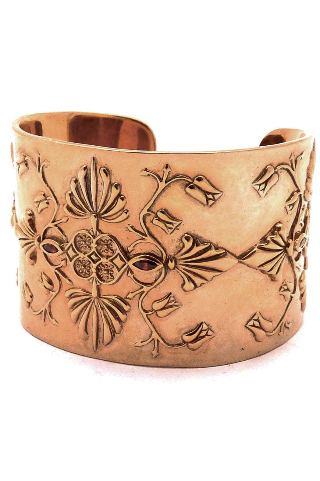 Joy Everley Vermeil Baroque Cuff - Main Image