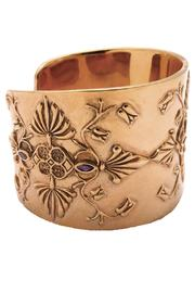 Joy Everley Vermeil Baroque Cuff - Other