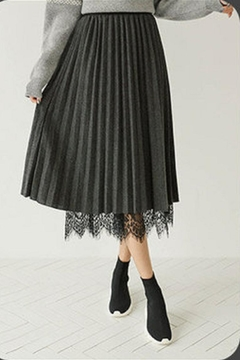 Joy Joy Reversible Lace Skirt - Alternate List Image
